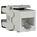 SCHNEIDER ELECTRIC Category 5e UTP Keystone Modular Jack [DCEKYSTUWT] - White - Modular Jack